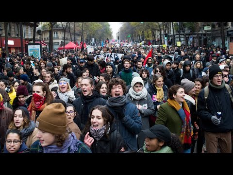 France's Pension Reform Met with Massive Protests and Strikes