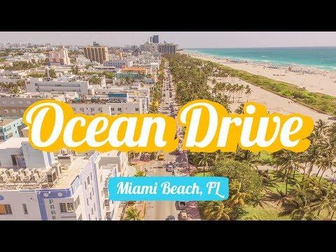 Walk & Drone on Ocean Drive / Miami Beach, FL