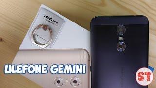Ulefone Gemini - 3-х глазый смарт з добротної камерою, розпакування