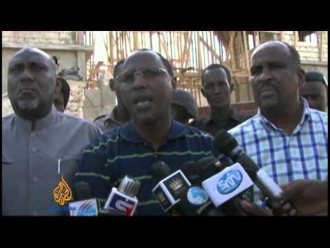 Al-Shabab attacks Somali presidential palace