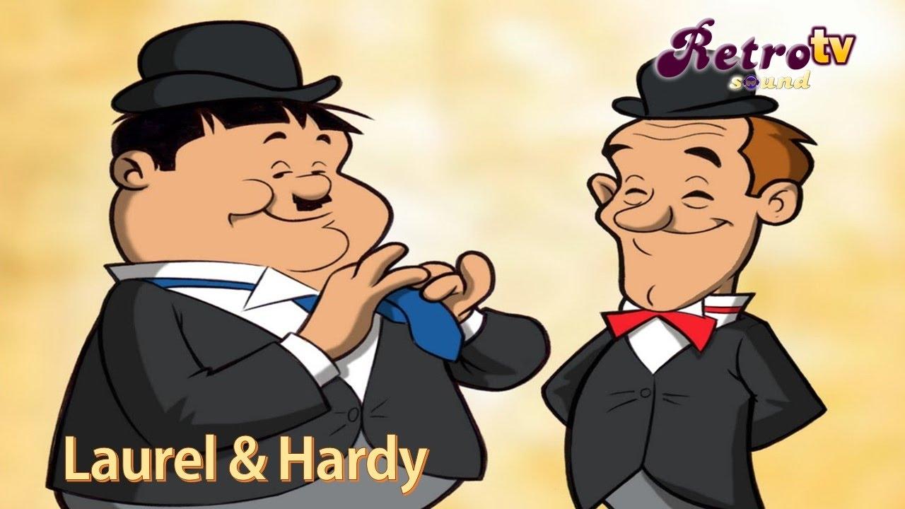 Intro El Gordo El Flaco Laurel Hardy Cartoon 1966 Widescreen