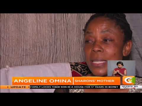 Mother of Sharon - one of the Kakamega twins, breaks the silence