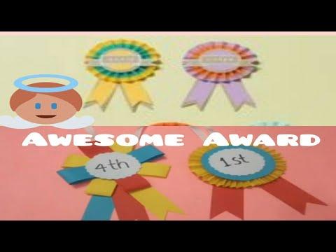 Paper Price award for Kids