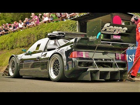 920Hp Ford RS200 Pikes Peak Version // Retro Rides 2017 Dramatic Run