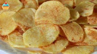 Ну, оОчень вкусные - домашние Чипсы!(Как приготовить Картофельные хрустящие Чипсы в домашних условиях. Вкусная картошка во фритюре по рецепту..., 2014-05-10T23:26:51.000Z)