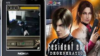 [HD] 3D Resident Evil Degeneration Java Mobile Game