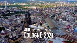COLOGNE Köln 4K Drone 2021 | GERMANY Deutschland Drohne