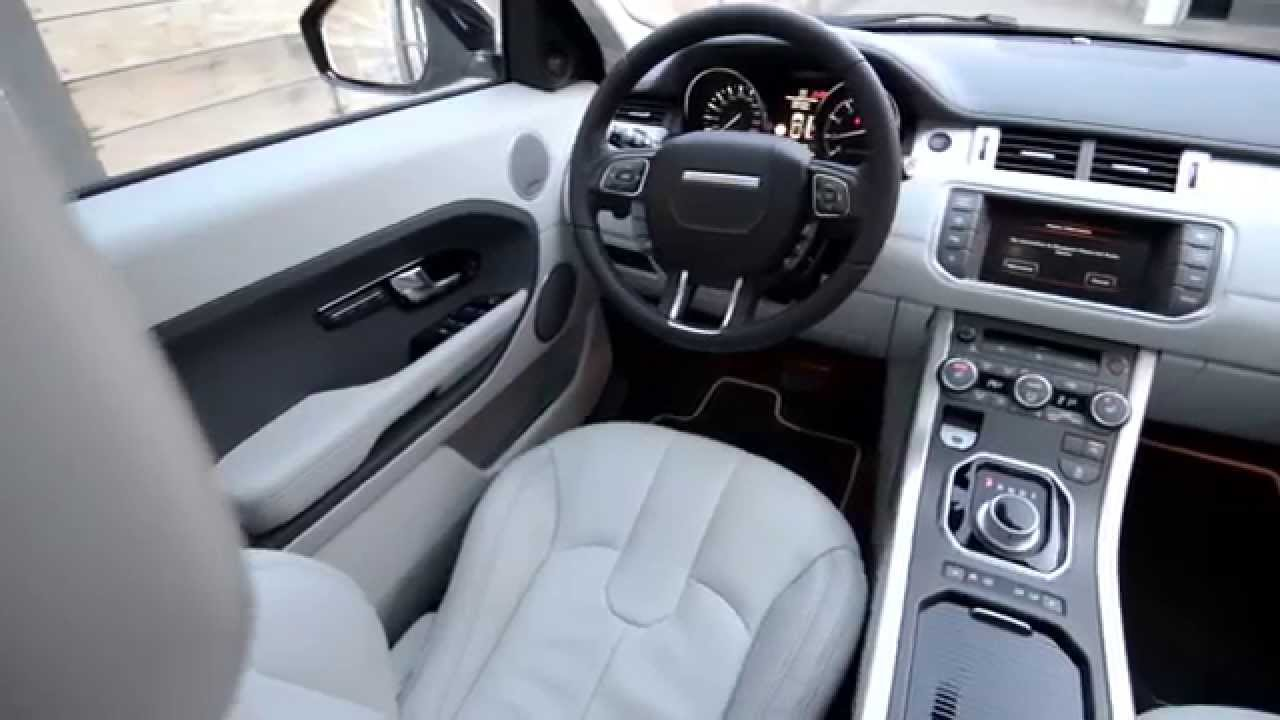 new 2014 range rover evoque interior youtube. Black Bedroom Furniture Sets. Home Design Ideas