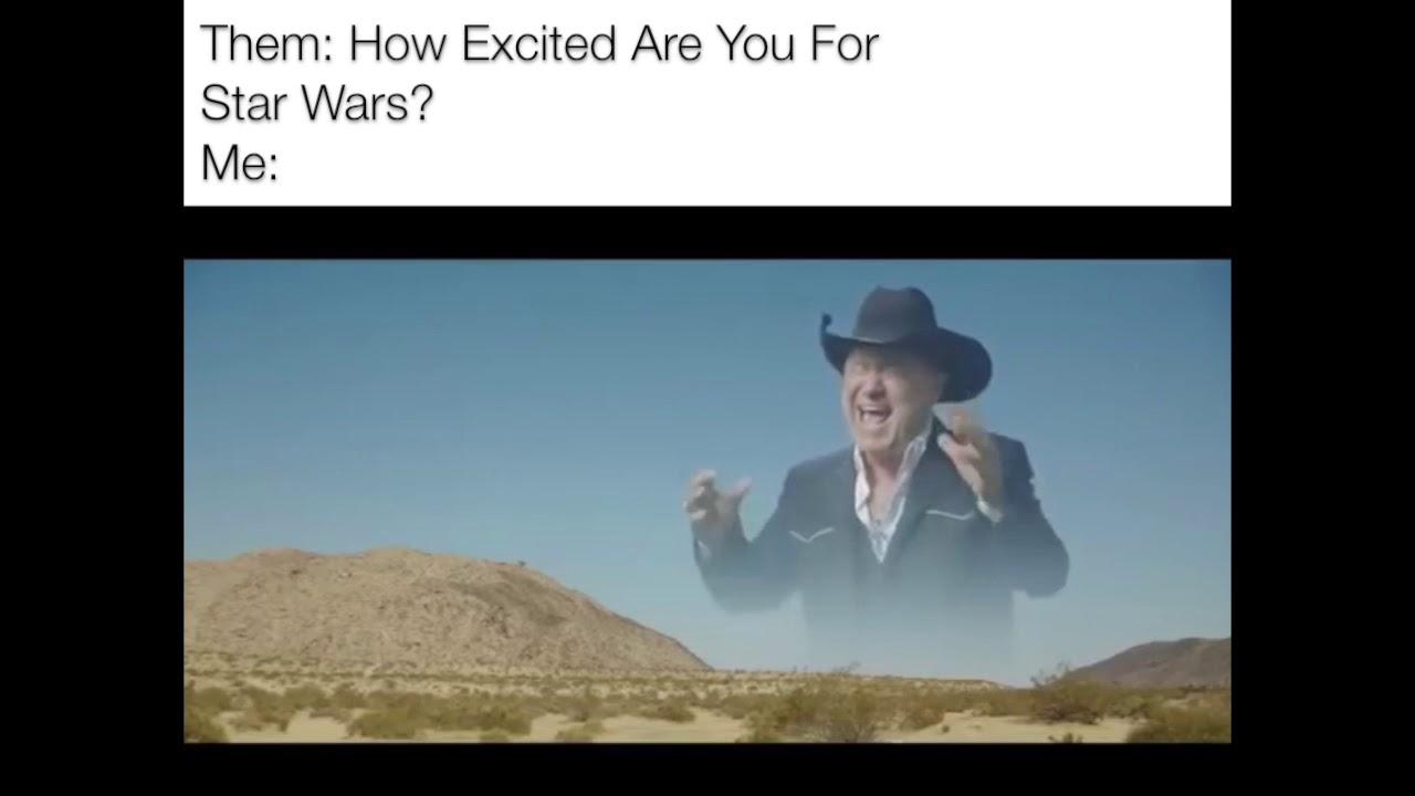 Star Wars Screaming Cowboy Meme - YouTube