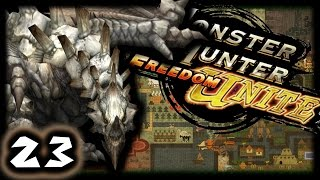 BOSS ON STEROIDS!   Monster Hunter Freedom Unite #23   Multiplayer (w/Friends)
