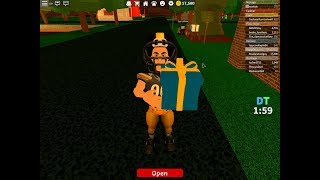 Presents in Roblox WORK AT A PIZZA PLACE (Flamethrower)