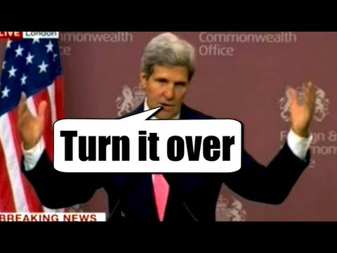 "Syria & Russia take Kerry's Chemical Weapons Proposal but U.S. says it was ""rhetorical"""