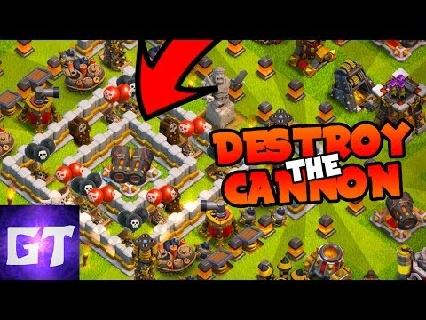 COLLAB WITH GENERAL TONY | DESTROY THE DOUBLE CANNON CHALLENGE | Clash of Clans |