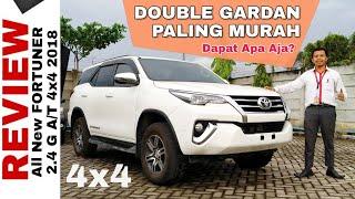 Explorasi New FORTUNER 4x4 Tipe G Double Gardan Toyota Indonesia