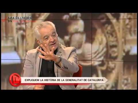 Història de la generalitat de Catalunya amb el professor Borja de Riquer a Divendres 16 10 2014