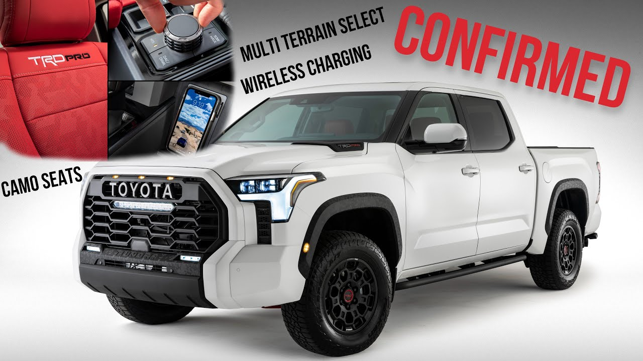 2022 Toyota Tundra Interior Photos Leak New Features!