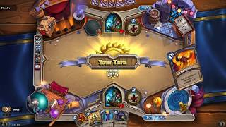 Hearthstone With New Arena Cards Shaman Draft and games 1-2