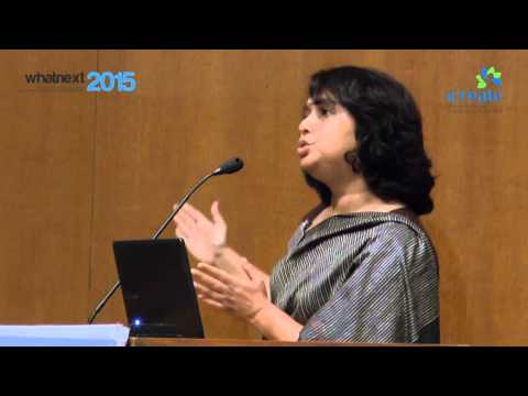 Keynote Speaker: Ms. Anu Madgavkar, Senior Fellow, McKinsey Global Institute