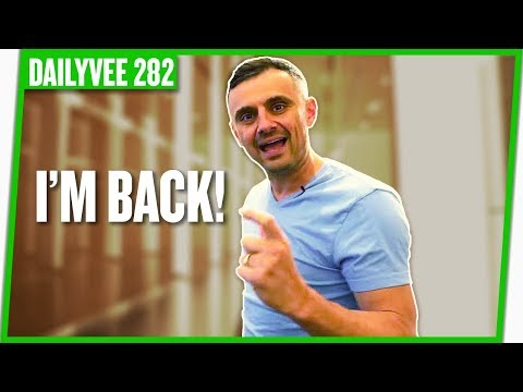 it's good to be BACK 🔥 💪 😉 !!! | DAILYVEE 282