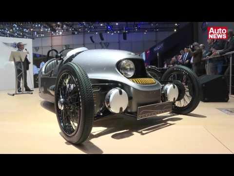 Morgan EV3 -  Premiere auf dem Genfer Autosalon 2016