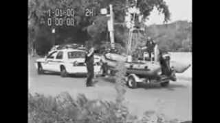 Police Chase! Boat and trailer get away.