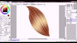 Paint SAI Hair Tutorial