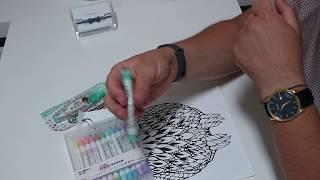 Кавайные маркеры и корректор с совами :))
