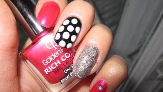 маникюр на коротких ногтях / manicure on short nails