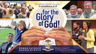 """for the Glory of God!"" - Bishop Christensen"