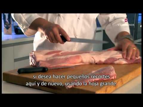 Cuchillos Para Deshuesar Y Rebanar Cortes