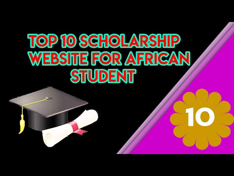 Top 10 Scholarship Website For African Student   L2 Tech