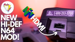 NEW NINTENDO 64 HĎMI MOD in 2021!   PixelFX N64Digital is Here! Installation Tutorial and Review!