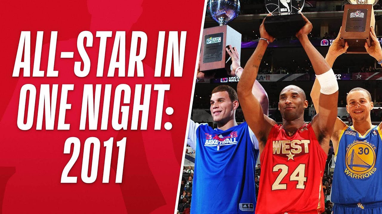 ???? Look Back At The Best Moments From 2011 #NBAAllStar Weekend In Los Angeles! ????