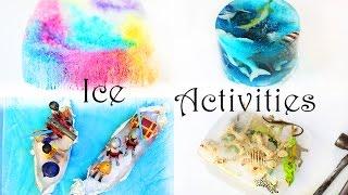 5 Ideen zum Spielen und Malen mit Eis im Sommer für Kinder | Spielen mit Kindern | Mama Kreativ