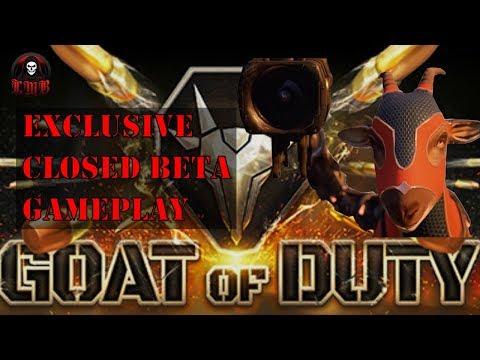 Goat of Duty: Closed Beta Gameplay |