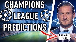 CHAMPIONS LEAGUE 2017/18 PREDICTIONS