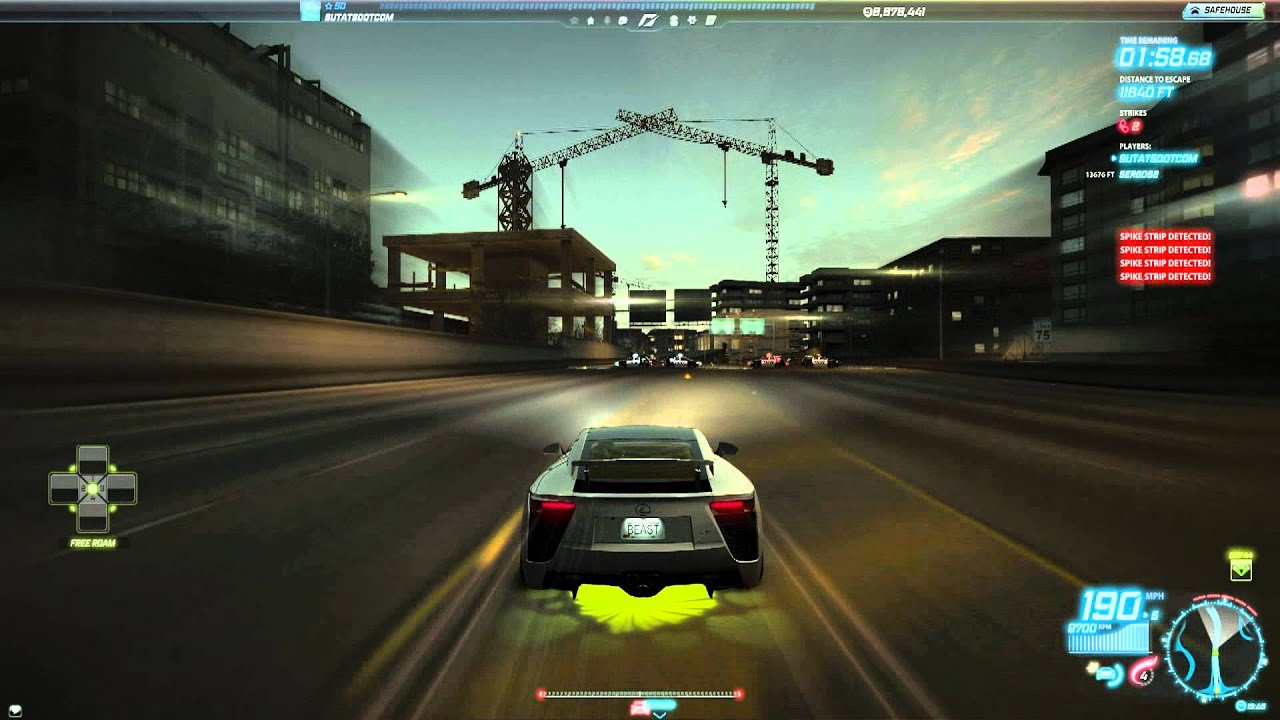need for speed world team escape high stakes 2 minute breaker lexus lfa youtube. Black Bedroom Furniture Sets. Home Design Ideas