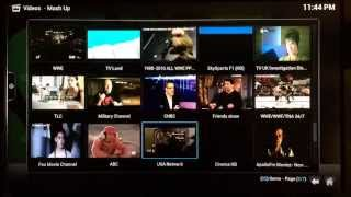 How to Configure MashUp to Watch Live TV and Live Sports Events on XBMC