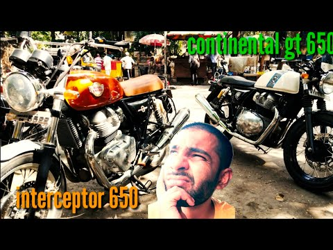 Continental Gt 650 V/s Interceptor 650 (which One To Buy In 2020) Practical Explanation