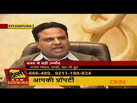 Insight of Industry Stalwart Rajesh Goyal, MD of RG Group on Delhi Aaj Tak