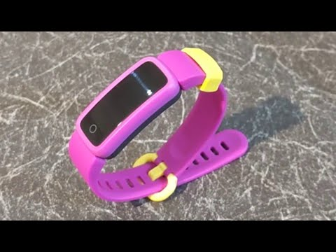 Biggerfive Kids Fitness Tracker Unboxing Setup Review Youtube