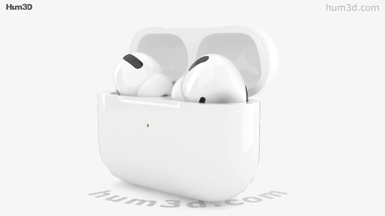 Apple Airpods Pro 3d Model By Hum3d Com Youtube