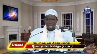 D 9aad kitaab    Qisooyinkii Nabiga (s.c.w.) Sh Mahad Abdinoor