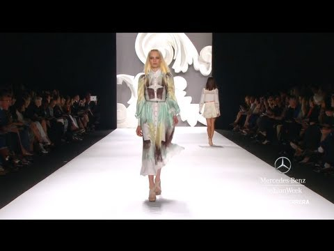 CAROLINA HERRERA FULL COLLECTION - MERCEDES-BENZ FASHION WEEK SPRING 2013 COLLECTIONS