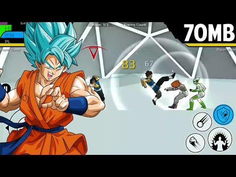 70mb Main Game Dragon Ball Final Power Level - Game Offline - 동영상