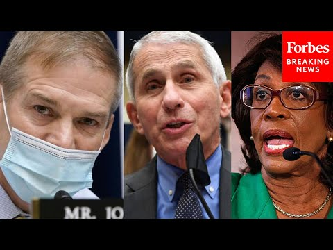 Viral Moment: Jim Jordan, Dr. Fauci Exchange Leads to Shouting Match Involving Maxine Waters