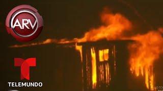Incendios en California dejan sin hogar a varios famosos | Al Rojo Vivo | Telemundo