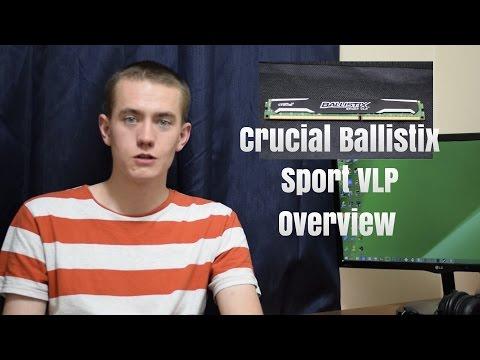 Crucial Ballistix Sport Very Low Profile RAM Overview