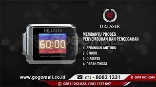 Dr Laser Perfect 10 PLUS Official Gogomall alat terapi laser melancarkan sirkulasi darah