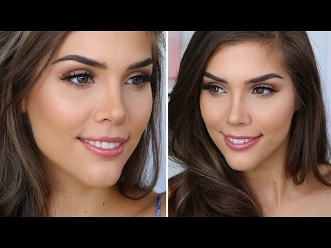 Everyday Natural Glam Makeup Tutorial/Routine